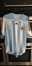ADIDAS Men AFA ARGENTINA 2006 Jersey T-Shirt Top Size Large.