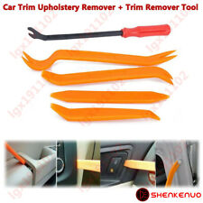 5X Car Door Card Panel Trim Clip + Upholstery Remover Pry Bar Tool Removal Plier