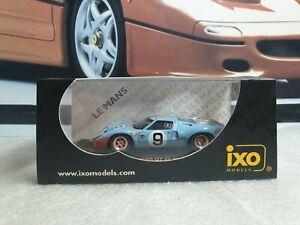 IXO MODELS - FORD GT40  - LE MANS 1968 WINNER -.1/43 scale model car LMC025