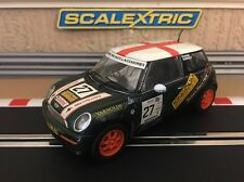 "Scalextric Mini Cooper ""John Cooper Challenge No27 C2562 Excellent Condition"