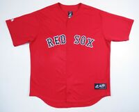 NWOT Vintage Boston Red Sox Sewn Red Majestic Authentic MLB Baseball Jersey XL
