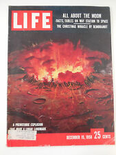LIFE MAGAZINE DECEMBER 15, 1958 ALL ABOUT THE MOON