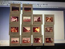 15 diapositives pedagogiques en couleurs. Du minerai à l'acier La siderurgie