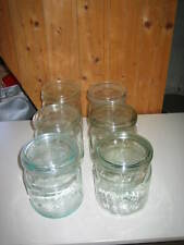 6 alte Einmachgläser 1 Liter, Einweckgläser