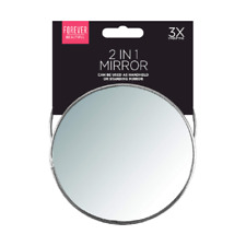 Faltbar Badezimmer Spiegel mit Ständer 3 X Vergrößerung Idee Reise Makeup Hand
