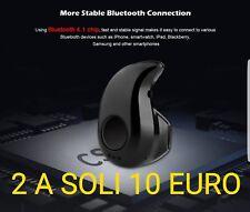 Auricolare Bluetooth Mini Cuffia Wireless Per Samsung Iphone Huawei Universale