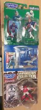 Starting Lineup Sports Figure 97 & 98 Drew Bledsoe, Raul Mondesi, Johnny Bench