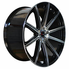 4 GWG Wheels 22 inch Black MOD Rims fits CHEVY IMPALA LTZ 2006 - 2013