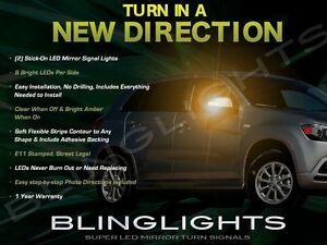 LED Side Mirror Turn Signal Covers for Mitsubishi Outlander / Sport / RVR / ASX