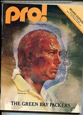 GREEN BAY PACKERS CHICAGO BEARS 1979 PRO FOOTBALL MAGAZINE BART STARR