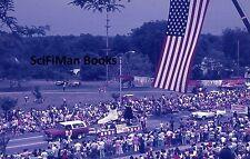 AGFACHROME Slide Ohio Cuyahoga Falls Bicentennial Parade Flag Float Cars 1976!!!