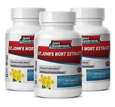 ST John's Wort Herb Pills - St. John's Wort Extract 475mg - Sexual Health 3B