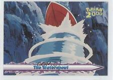 2000 Topps Pokemon Movie #42 The Waterspout Card g6w
