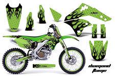 KAWASAKI KXF 250 Graphic Kit AMR Racing # Plates Decal Sticker Part 06-08 DFG