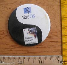 "1990s Apple Macintosh MAC OS 7.5 computer convention button 2"""