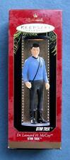 Dr. Leonard H. Mccoy Mib Hallmark Keepsake Christmas Ornament 1997 Star Trek