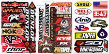 Arai Bell Shoei Helmet Stickers Motocross Bike Graphics Kits Racing Logo Decals