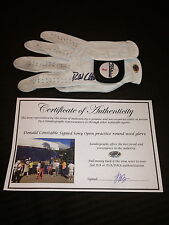 DONALD CONSTABLE GAME USED SIGNED AUTOGRAPHED PGA TITLEIST GOLF GLOVE-COA-PROOF