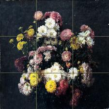 Art Henri Fantin Latour Flowers Ceramic Mural Backsplash Bath Tile #2135