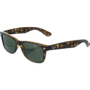 Ray-Ban New Wayfarer G-15 Brown Original Wayfarer Sunglasses 55mm BHFO 6126
