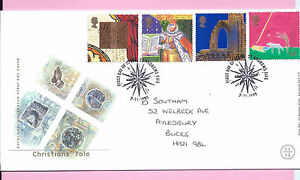 ROYAL MAIL 1999 FDC - CHRISTIANS' TALE - Shs ST. ANDREWS Fife