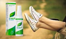 Fresh Fingers Spray Effective Natural Foot Deodorant with antifungal agent
