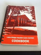 Vintage Roseville MN Lake Ridge Health Care Center Cookbook Community Recipes