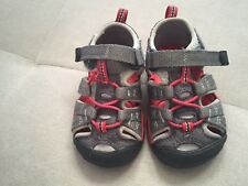 Keen Shoes Sandals Size 5 Red Gray Boys