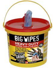 "BIG WIPES ""Heavy Duty"" 240 Stück doppelseitige Reinigungstücher Öl Farbe Silikon"