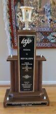 DIZZY GILLESPIE AWARDED LARGE TROPHY JAZZ MUSIC TRUMPET 1992 BEBOP Personal
