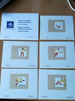 PRUEBA S/D OLIMPICAS DE BRONCE 1219/1227, 9 V. BARCELONA 92.OFICIALE