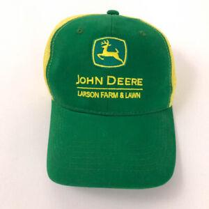 John Deere hat Larson Farm & Lawn green yellow mesh