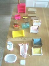 EUC Mixed lot of doll house sized furniture and accessories