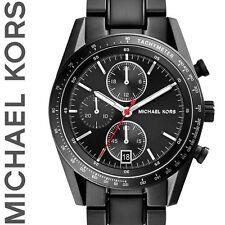 ✅ Original MICHAEL KORS Herren Uhr MK8386 Accelerator Edelstahl schwarz, NEU+OVP