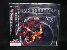 THUNDERSTONE Apocalypse Again + 1 JAPAN CD The Magnificent Antidote Status Minor