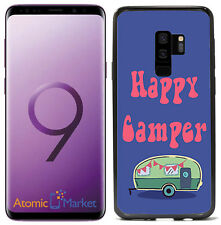 Happy Camper Funny For Samsung Galaxy S9 Plus + 2018 Case Cover