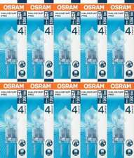 10x OSRAM Ampoule à Broche HALOSTAR Pro 64440 GY6,35 12V 50W EEK B halogène