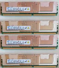 4 x 4GB M395T5166AZ4-CE65 PC2-5300F 667MHz DDR2 2Rx4 240-P FBDIMM ECC Server RAM