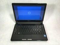 "Hannspree HannsBook SN12E2 12.1"" Laptop Intel Pentium 1.3GHz 2GB 320GB Win10 -RR"
