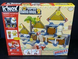 K'nex Desert Building Set New Super Mario Bros 2 Nintendo Brand New