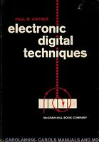 ELECTRONIC DIGITAL TECHNIQUES Paul M Kintner 1968