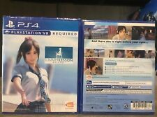 PS4 / PSVR MY SUMMER LESSON WITH HIKARI MIYAMOTO ASIA ENGLISH VERSION RARE!