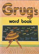 Grug's Word Book by Ted Prior -  Hardcover 1984 - AUST SELLER FAST POSTAGE!!