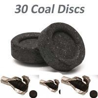 30 Coal Discs Charcoal Shisha Incense Hookah Sheesha Pipe Hukkah Light -CHEAPEST