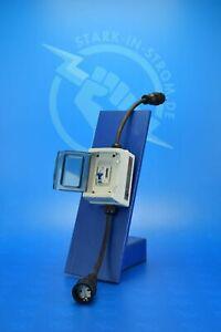 Zwischenzähler Adapter 230V - Schuko / Digital-LCD und FI-Schutzschalter