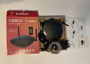 Belkin N300 XR Wi-Fi® N Router, F9K1007, EUC