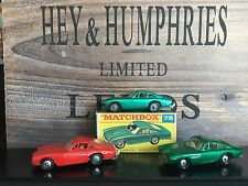 matchbox 3x Regular Wheels no.75B-Very Rare Versionen OVP F-Box excellent 1968