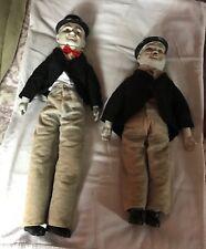 Laurel and Hardy Vintage Porcelain Dolls