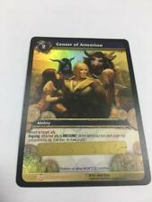 Wow World of Warcraft TCG Center of Attention Unscratched Loot card x1 *READ*