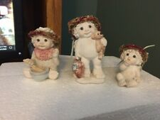 Lot of 3 Dreamsicles Cherub Angel Figurines